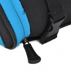 ROSWHEEL 13656-B Stylish Handy 600 Dacron + PVC Tail Bag for Bike - Black + Blue
