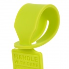 Convenient Silicone Luggage Tag - Green