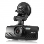 "AT800 1080P 2.7"" TFT LCD 3.0MP Wide Angle Lens Car DVR w/ HDMI / G-sensor / TF - Black"