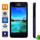 "NAMO N880 Dual-Core Android 4.0 WCDMA Bar Phone w/ 4.5"" QHD, 512MB RAM, 4GB ROM, GPS - Black"
