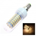 TZY 6S E14 7W 480lm 3500K 138SMD 3528 LED Warm White Light Lamp Bulb - White (220~240V)