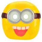 Cute Plastic Party Mask - Yellow