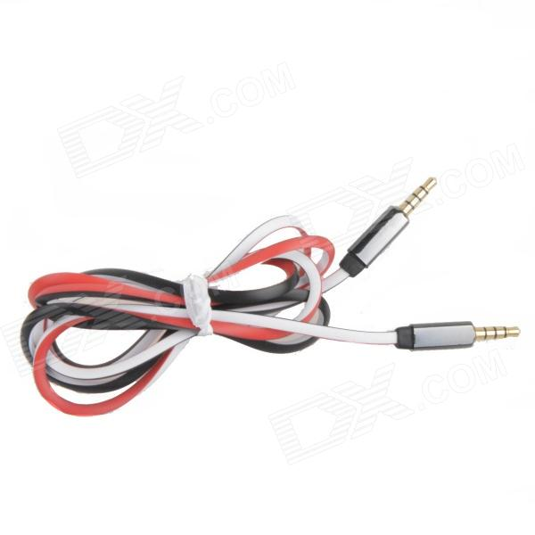 trrs male to male audio triangle cable red white black 120cm free shipping. Black Bedroom Furniture Sets. Home Design Ideas