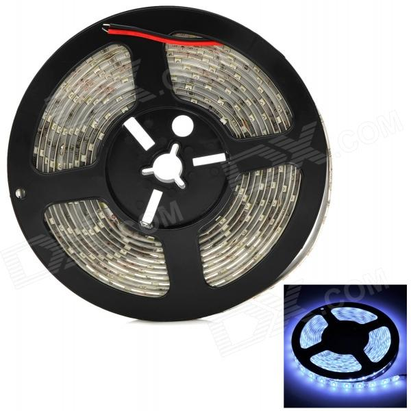 Waterproof 90W 8000lm 9000K 300-5630 SMD LED Cool White Strip - White + Black (5m) от DX.com INT
