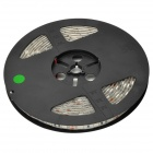Impermeable 60W 3600lm 535 nm 300-5050 SMD LED Luz de tira verde decorativo - Blanco + Negro (5m)