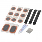 Handy Portable Tyre Repairing Tool Kit Set for Bike - Transparent