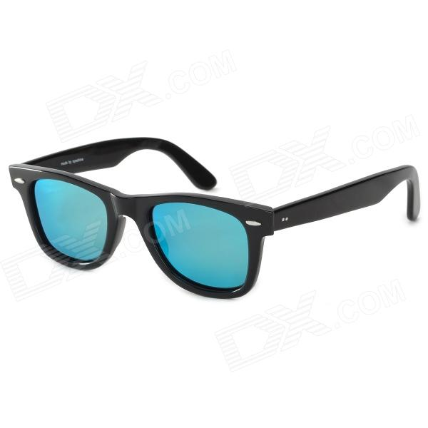 OREKA 2140 Plate Frame Polarized Sunglasses - BlackSunglasses<br>Model2140Quantity1Frame ColorWhiteLens ColorBlackFrame MaterialPlateLens MaterialTACGenderMenSuitable forAdultsLens Width48Overall Width of Frame145Packing List1 x Sunglasses1 x Packing box1 x Cleaning cloth<br>