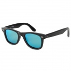 OREKA 2140 Plate Frame Polarized Sunglasses - Black