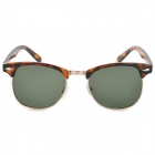 OREKA 9002 Frame PC retro gafas de sol polarizadas - Tortoise Shell color
