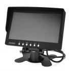 "Waterproof 7 ""TFT com fios CMOS Car Wide Angle Rearview Camera w / 18-LED IR Night Vision - Black"