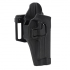 Gun Quick Pulling Nylon + Plastic Waist Holster for P226 - Black