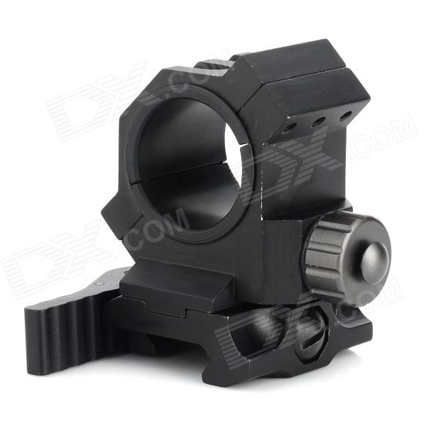 Quick Lock QD Scope Mount for 25mm / 30mm Gun - Black 10pcs m3 aluminum column 6 10 15 25mm 20mm 28mm 30mm 35mm round aluminum alloy pillar standoff spacer fastener anti slip for rc
