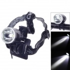 T011 Cree XM-L T6 900lm 3-Mode White Bicycle Light / Headlight - Black + Silver (4 x 18650)