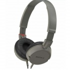 Genuine Sony MDR-ZX100 ZX Series Stereo Headphone - Grey