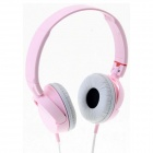 Genuine Sony MDR-ZX100 ZX Series Stereo Headphone - Pink