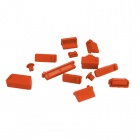 ENKAY Universal Anti-dust Plugs for Lenovo / HP / Dell / Acer / Asus Laptop - Orange (13 PCS)