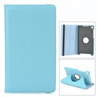 Protective 360 Degree Rotation PU Leather Case w/ Sleep Mode for Google Nexus 7 II - Pink