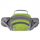 Creeper SY-083 Outdoor Travel Cycling Nylon Waist Bag - Green + Grey