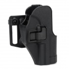 Quick Release Nylon + Plastic Waist Holster + Buckle for USP - Black