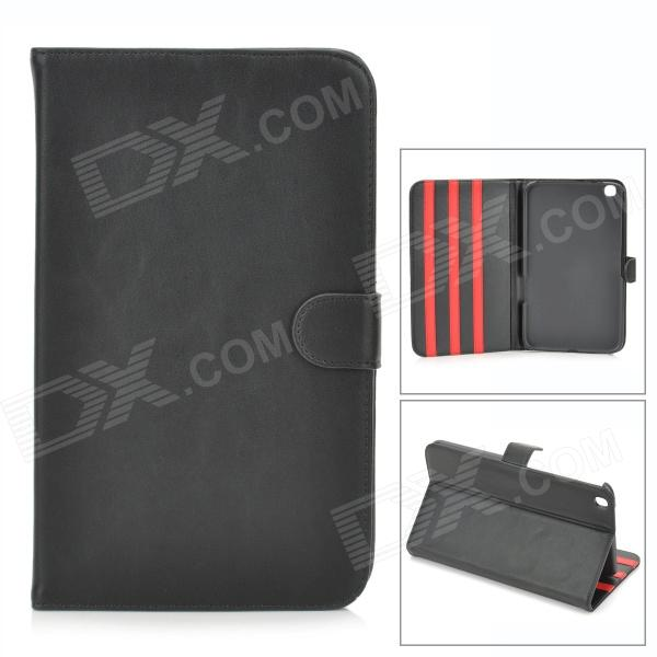 Protective PU Leather  Flip Open Case for Samsung Galaxy 3 8.0 (T310) - Black