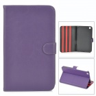 Protective PU Leather  Flip Open Case for Samsung Galaxy 3 8.0 (T310) - Purple