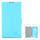 NILLKIN Fresh Series Protective PU Leather + PC Case for Nokia Lumia 1020 - Blue