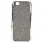 Shining Protective ABS Back Case for Iphone 5C - Grey Black + Silver