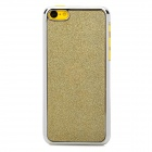 Shining Protective ABS Back Case for Iphone 5C - Golden + Silver