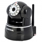 SENKAMA N620W 720P 1.0MP HD Wireless IP Network Camera w/ Wi-Fi / 11-IR LED / TF / Mic - Black