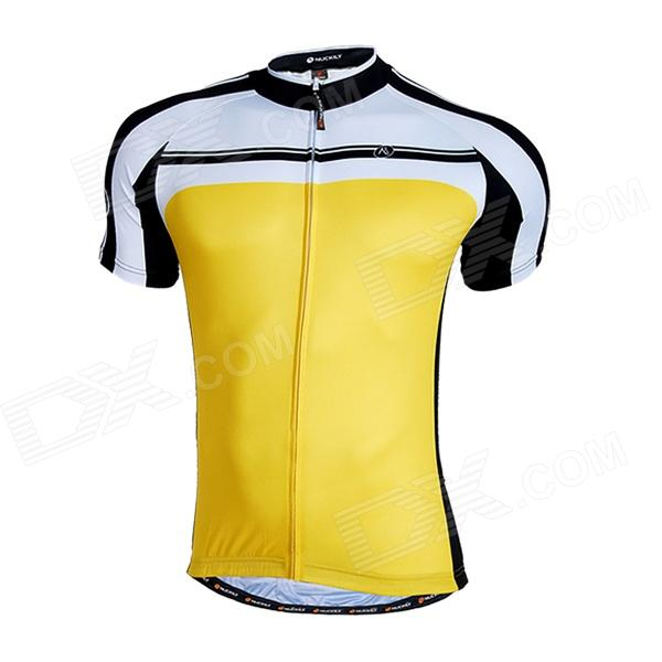 NUCKILY Quick Drying Short Sleeve Cycling Jersey Clothes ...