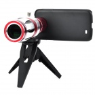 Aluminum Alloy 20X Telephoto Lens w/ Tripod / Case for Samsung i9500