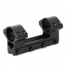 LDL005 double alliage d'aluminium Support Gun Mount - Noir (25,4 mm)