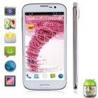 "POMPking4 W88s MTK6589T Quad-Core Android 4.2 WCDMA Bar Phone w / 5,0 ""IPS, 2GB RAM, 32GB ROM-Weiß"