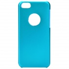 Protective Aluminum Alloy Back Case for Iphone 5C - Blue