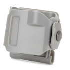 Quick Release Hard Plastic Holster Waist Buckle for G17 - Grey