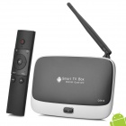 BT-CS918 RK3188 Android 4.2 Google TV Player w / 2 GB RAM / 8GB ROM / HDMI / TF / Wi-Fi - Schwarz