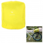 ROSWHEEL 17221 Rainproof Bicycle Rear Seat Bag Cover - Yellow
