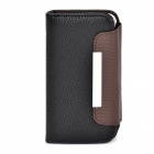 ZS004 Protective PU Leather Case for Iphone 4 / 4S - Black