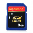 Gigastone Y7-C10-3 High Speed SDHC Memory Card - Blue + Black (8GB / Class 10)