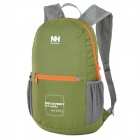 Naturehike Folding Double-Shoulder Bag Backpack - Green + Grey (15L)
