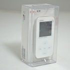 "ONN Q2 Ultra-Slim 1.5"" TFT Screen Sporting MP4 Player w/ FM - White (4GB)"