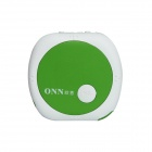 ONN V3 Mini Clip On Sports MP3 Player - Green + White (4GB)