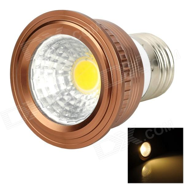 UItraFire E27 3W 180lm 3200K COB Warm White Light Spotlight - Bronze + Silver uitrafire 3wcob 3w 180lm 6000k gu10 white light led spotlight lamp silver white 85v 265v