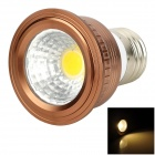 UltraFire E27 3W 180lm 3200K COB Warm White Light Spotlight - Bronze + Silver
