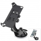 360 Degree Rotation Holder Mount w/ H07 Suction Cup for iPhone 4 / 4S - Black