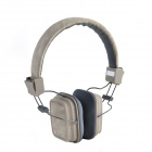 HAVIT HV-H358F Independent Dual Audio Interface Sweetheart Style Music Headphone - Grey (3.5mm Plug)