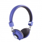 HAVIT HV-H328F Independent Dual Audio Interface Sweetheart Style Music Headphone - Purple + Grey