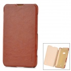 PUDINI WB-L625 Protective PU + PC Case w/ Stand for Nokia Lumia 625 - Brown