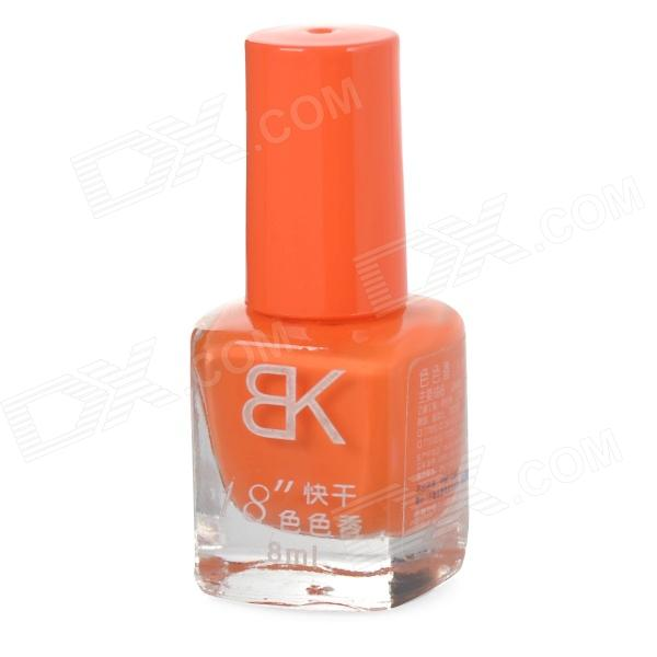 Rápido secado decorativo Esmalte de Uñas - Orange (8 ml)