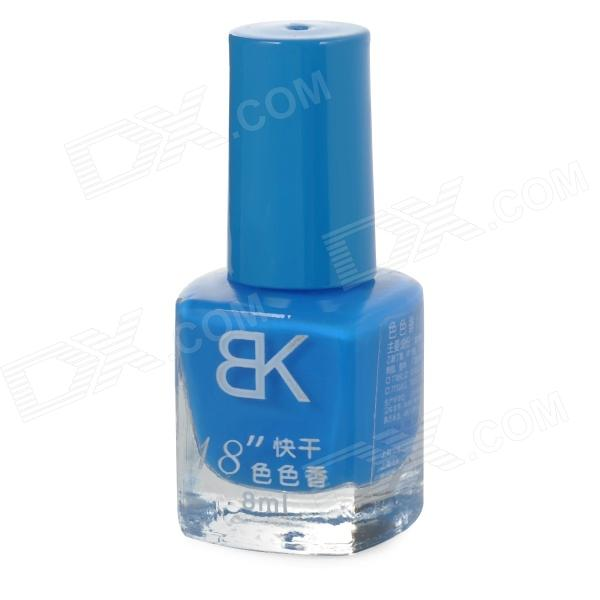 Quick-drying Make-up / Cosmetic Art Decorative Nail Polish - Blue (8ml) Warren B. ad
